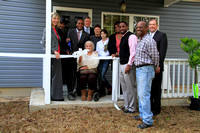 Neff Family Home Replacement Ribbon Cutting - December 20, 2012