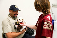 July 20, 2017 - Animal Control visits the Arts School