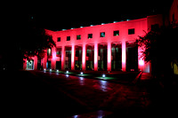 Leon County Courthouse Goes Pink